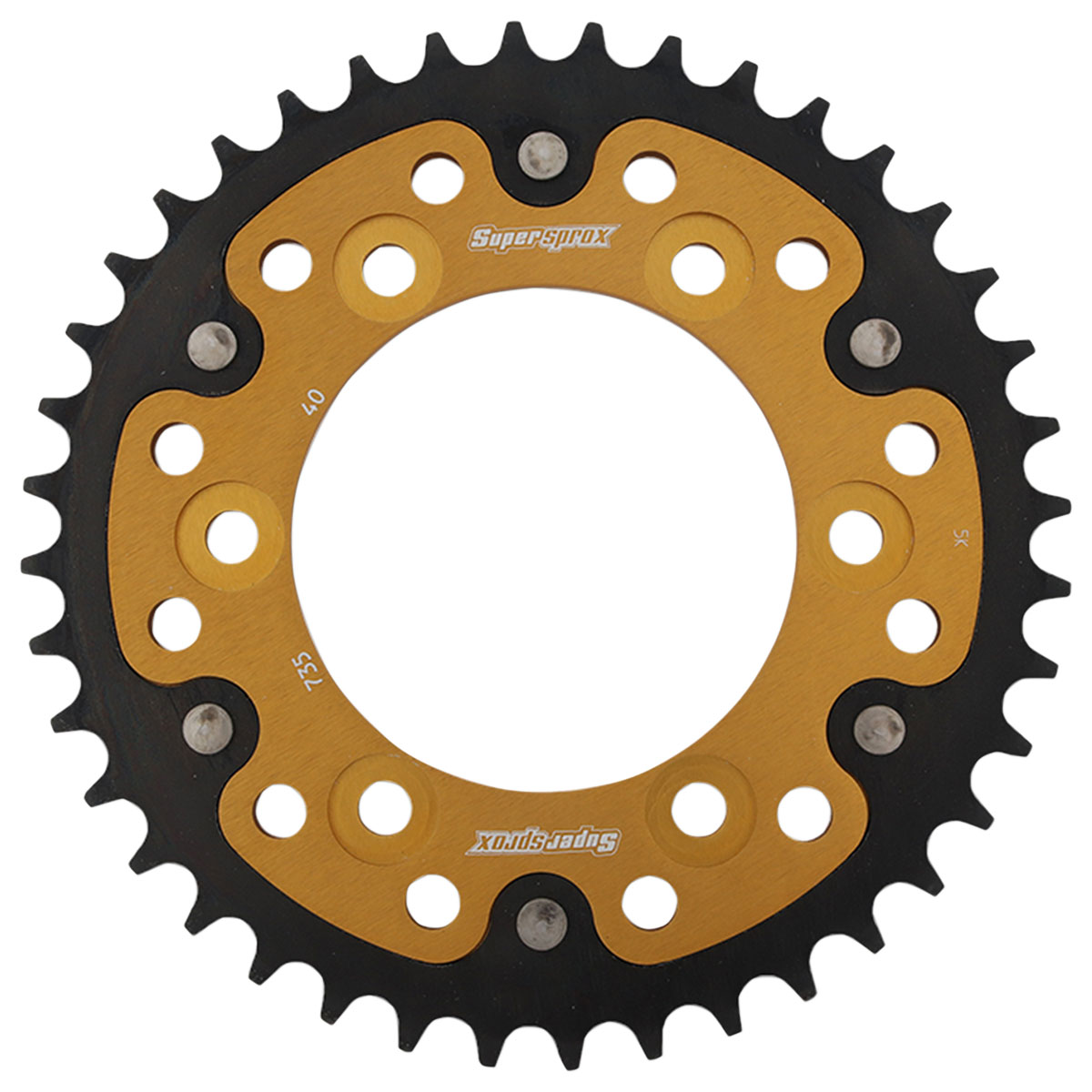 Supersprox Rear Stealth Sprocket 520 40T Gold