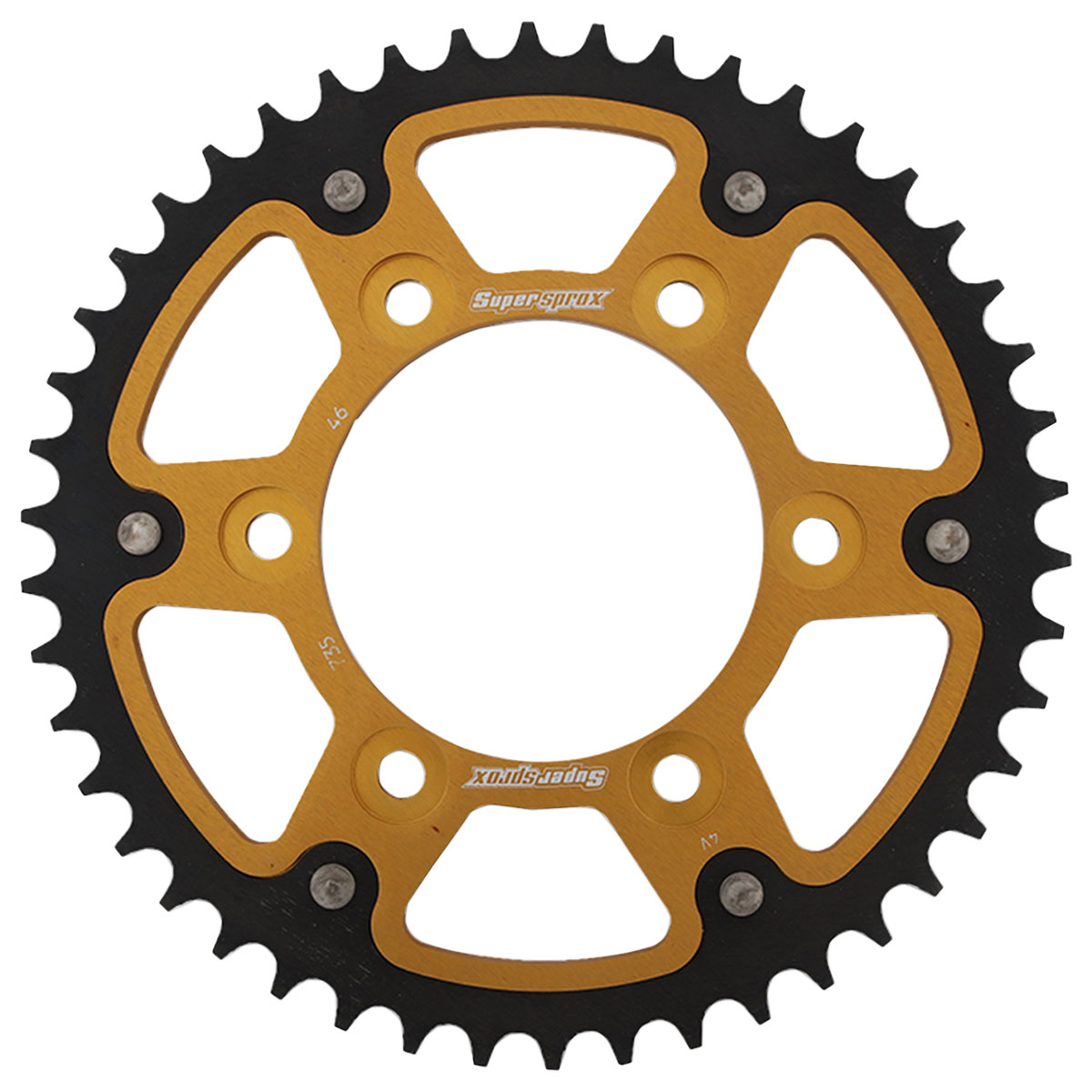 Supersprox Rear Stealth Sprocket 520 46T Gold