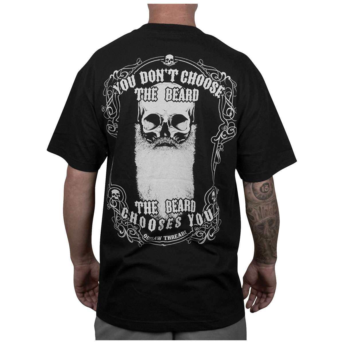 Outlaw Threadz Men's Chosen Black T-Shirt