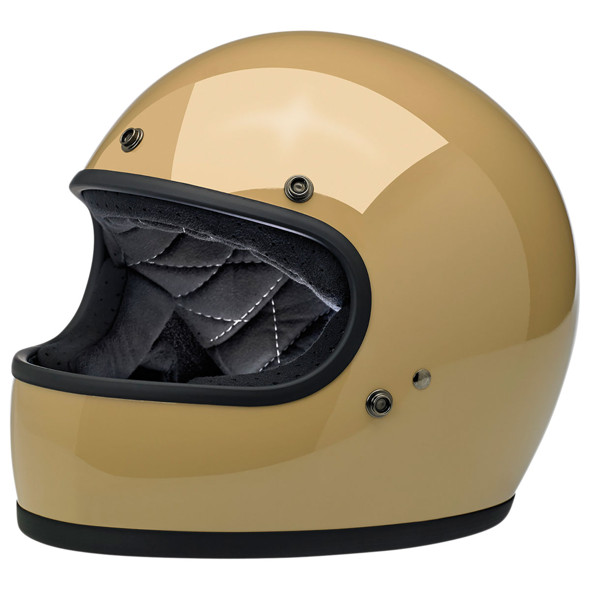 Biltwell Inc. Gringo DOT/ECE  Coyote Tan Full Face Helmet