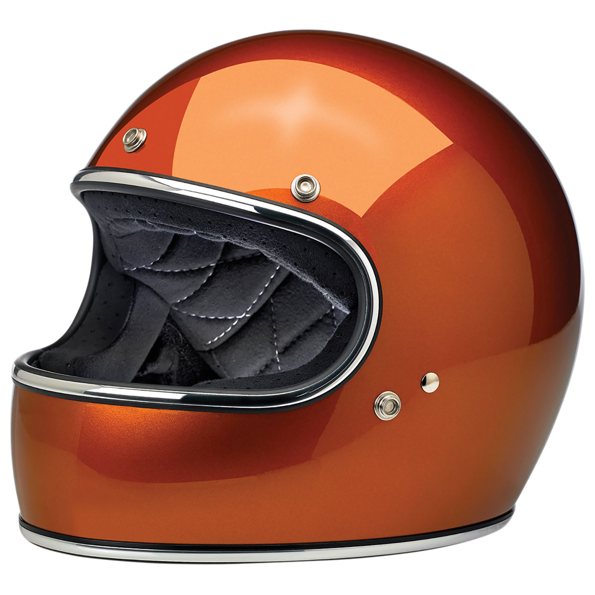 Biltwell Inc. Gringo DOT/ECE Copper Full Face Helmet