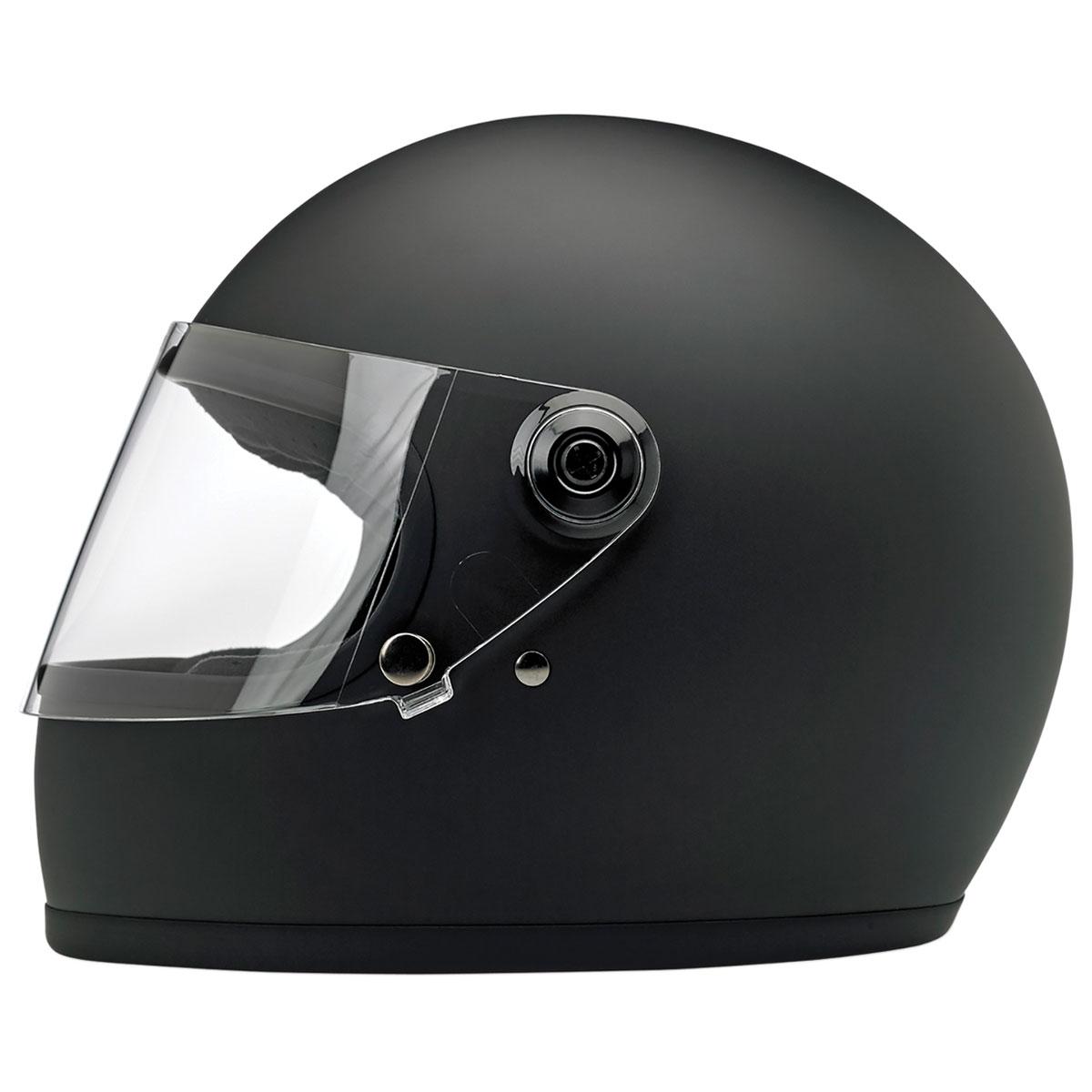 Biltwell Inc. Gringo S DOT/ECE Matte Black Full Face Helmet
