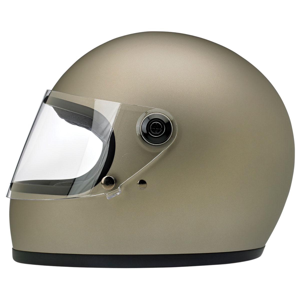 Biltwell Inc. Gringo S DOT/ECE Matte Titanium Full Face Helmet