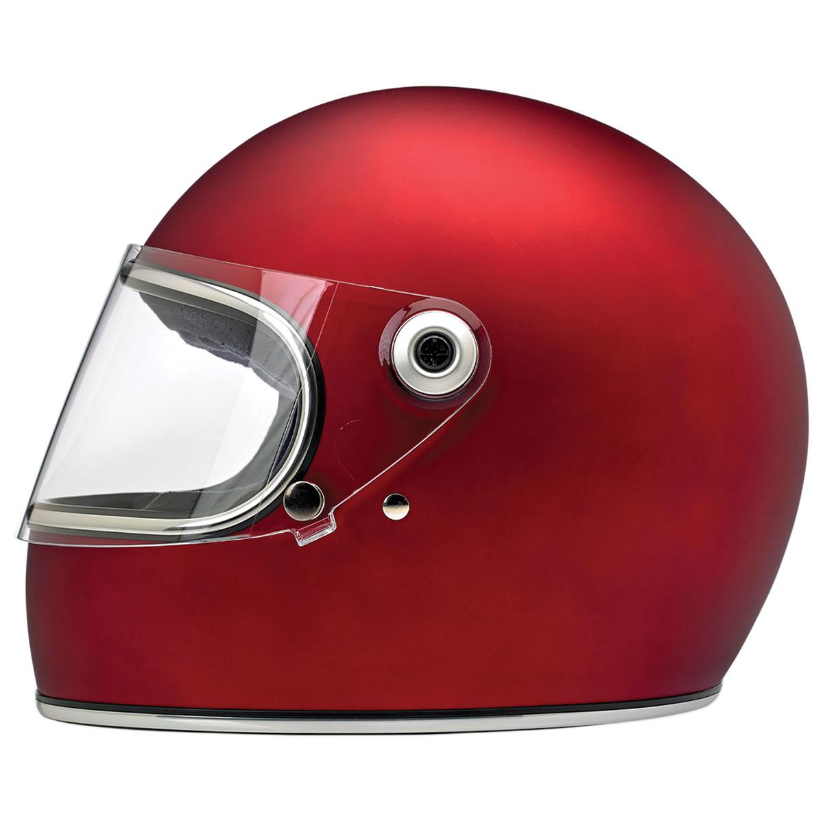 Biltwell Inc. Gringo S DOT/ECE Matte Red Full Face Helmet