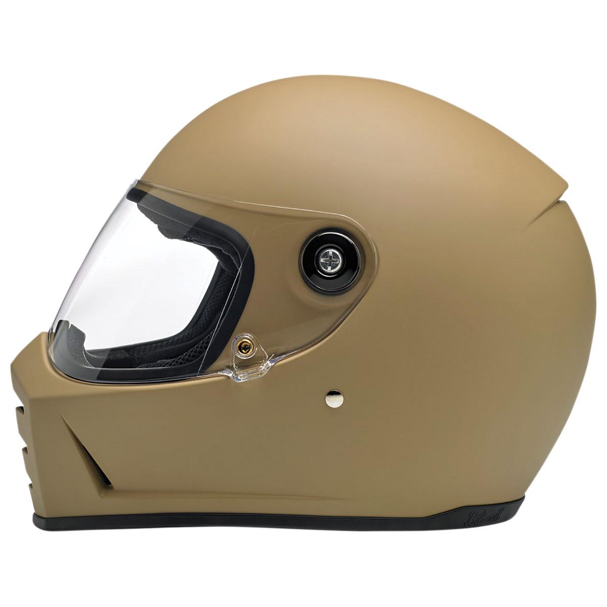 Biltwell Inc. Lane Splitter Matte Coyote Tan Full Face Helmet