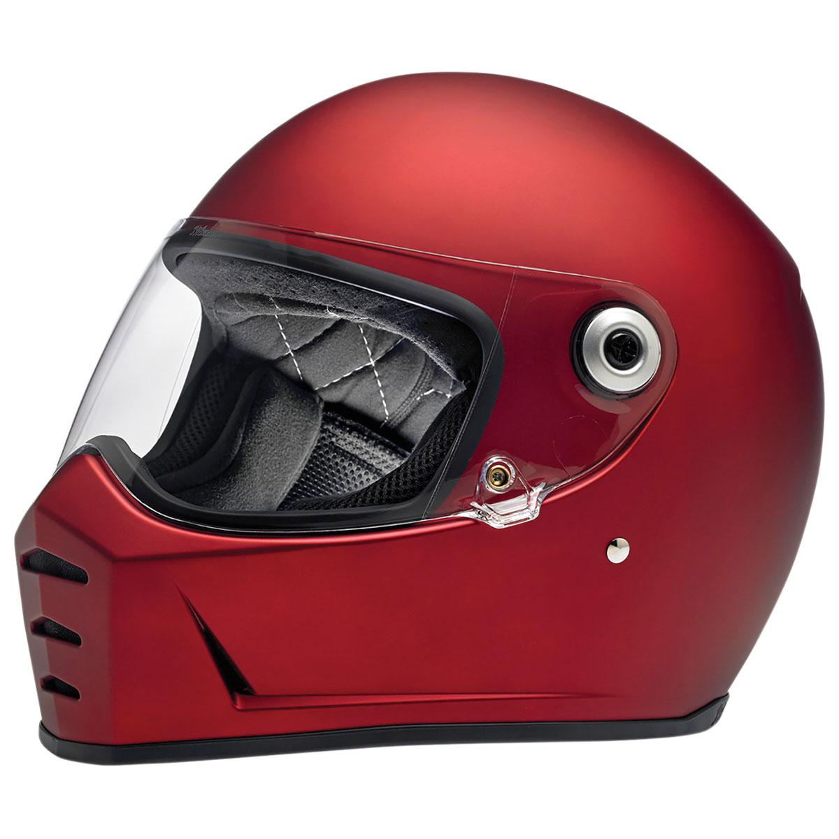 Biltwell Inc. Lane Splitter Matte Red Full Face Helmet