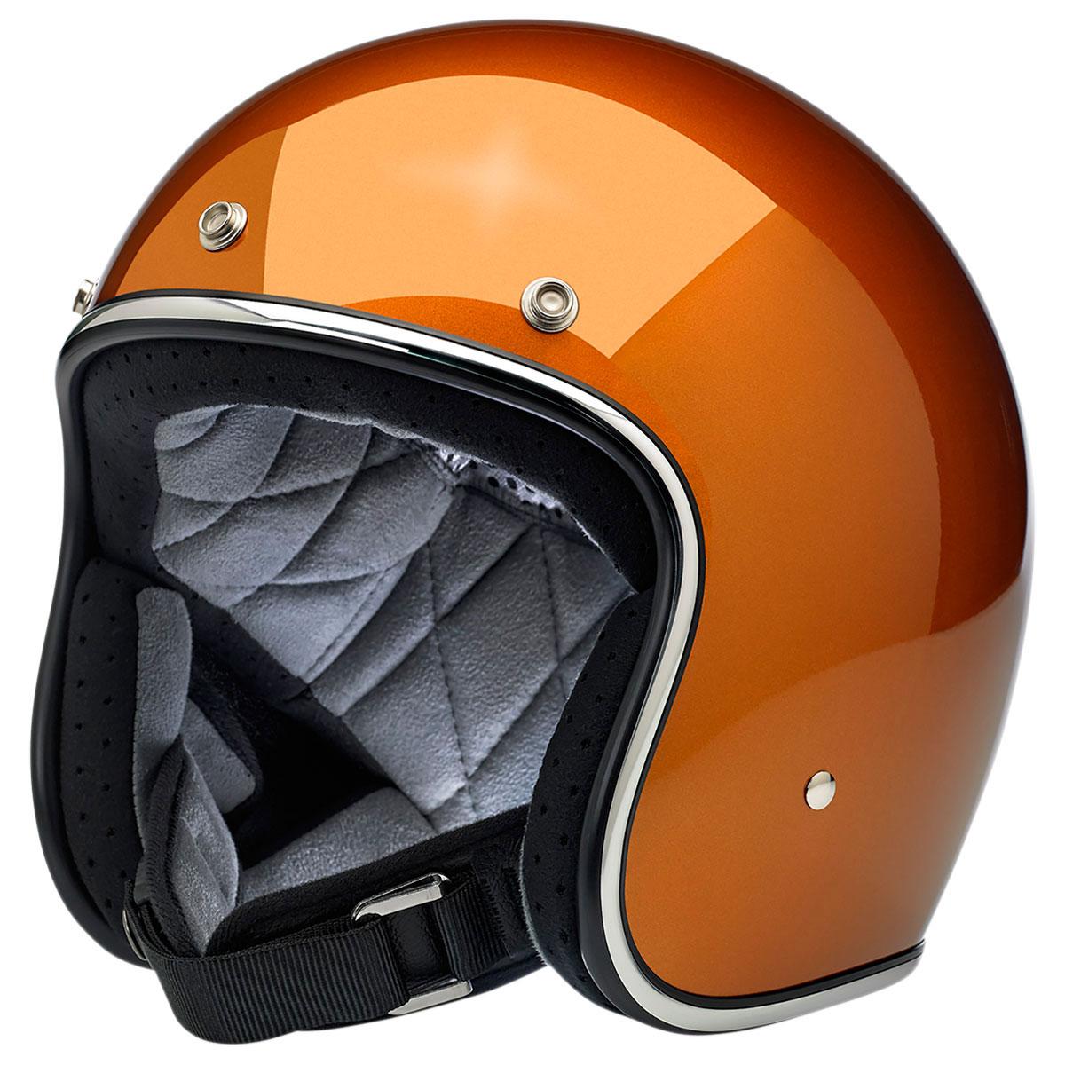 Biltwell Inc. Bonanza Copper Open Face Helmet