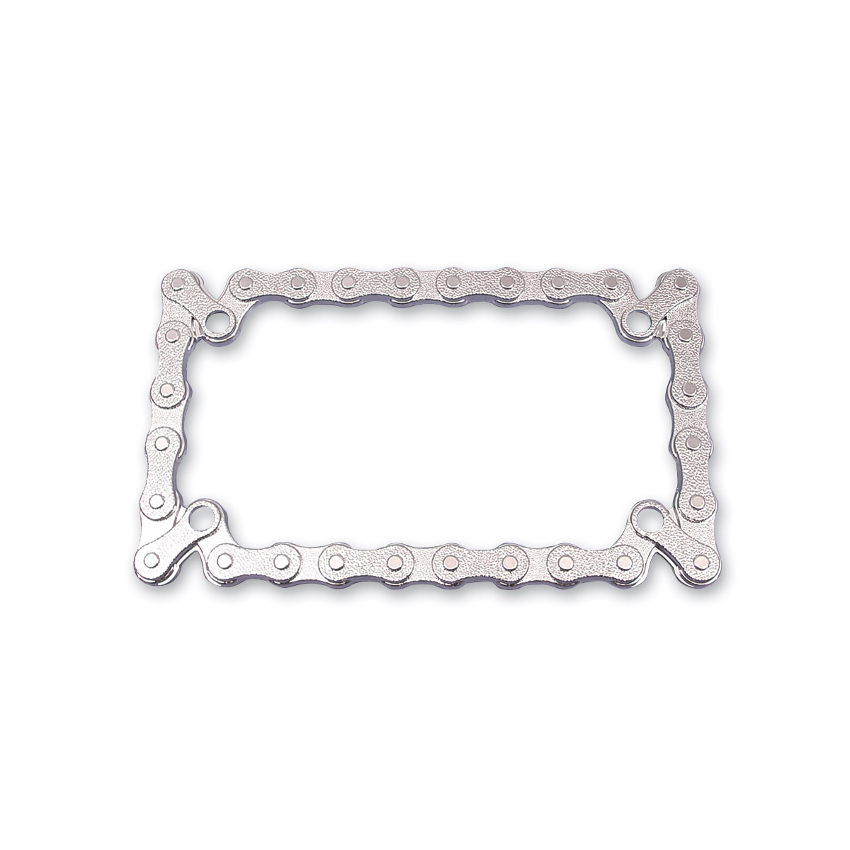 J&P Cycles® Chrome Chain License Plate Frame