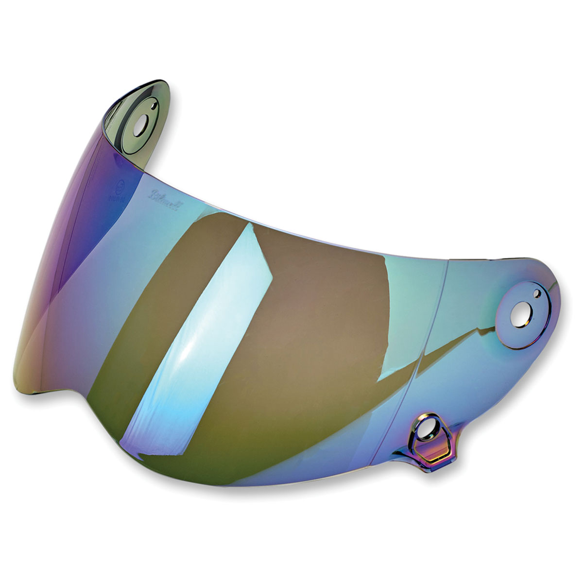 Biltwell Inc. Lane splitter Mirrored Rainbow Antifog Face Shield