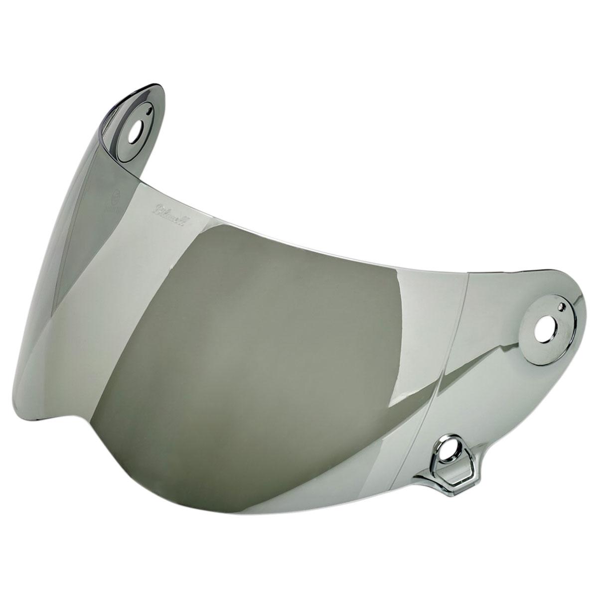 Biltwell Inc. Lane splitter Mirrored Chrome Antifog Face Shield
