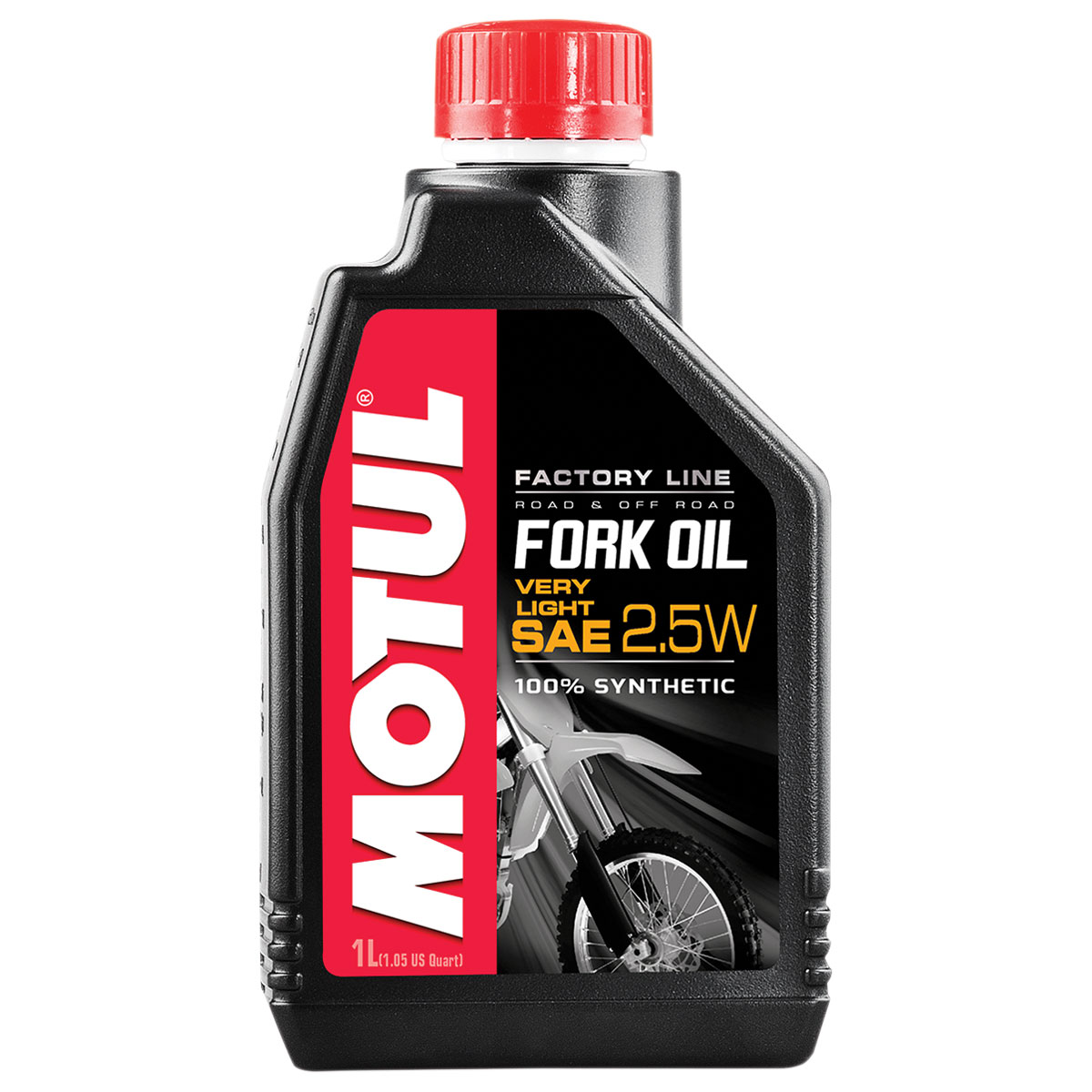MOTUL 2.5W Factory Line Synthetic Fork Oil Liter