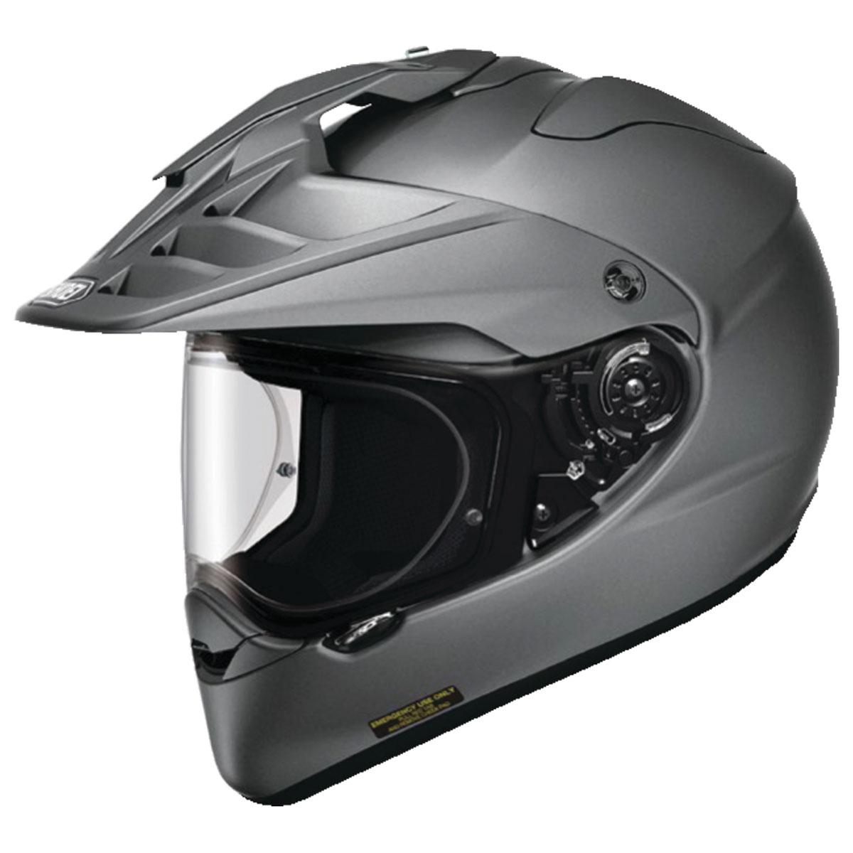 Shoei Hornet X2 Matte Deep Gray Dual Sport Helmet