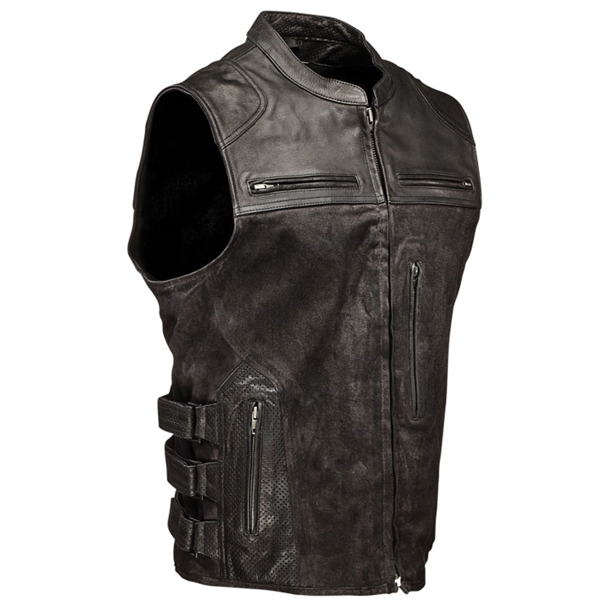 Speed and Strength Men's Tough as Nails Black Vest