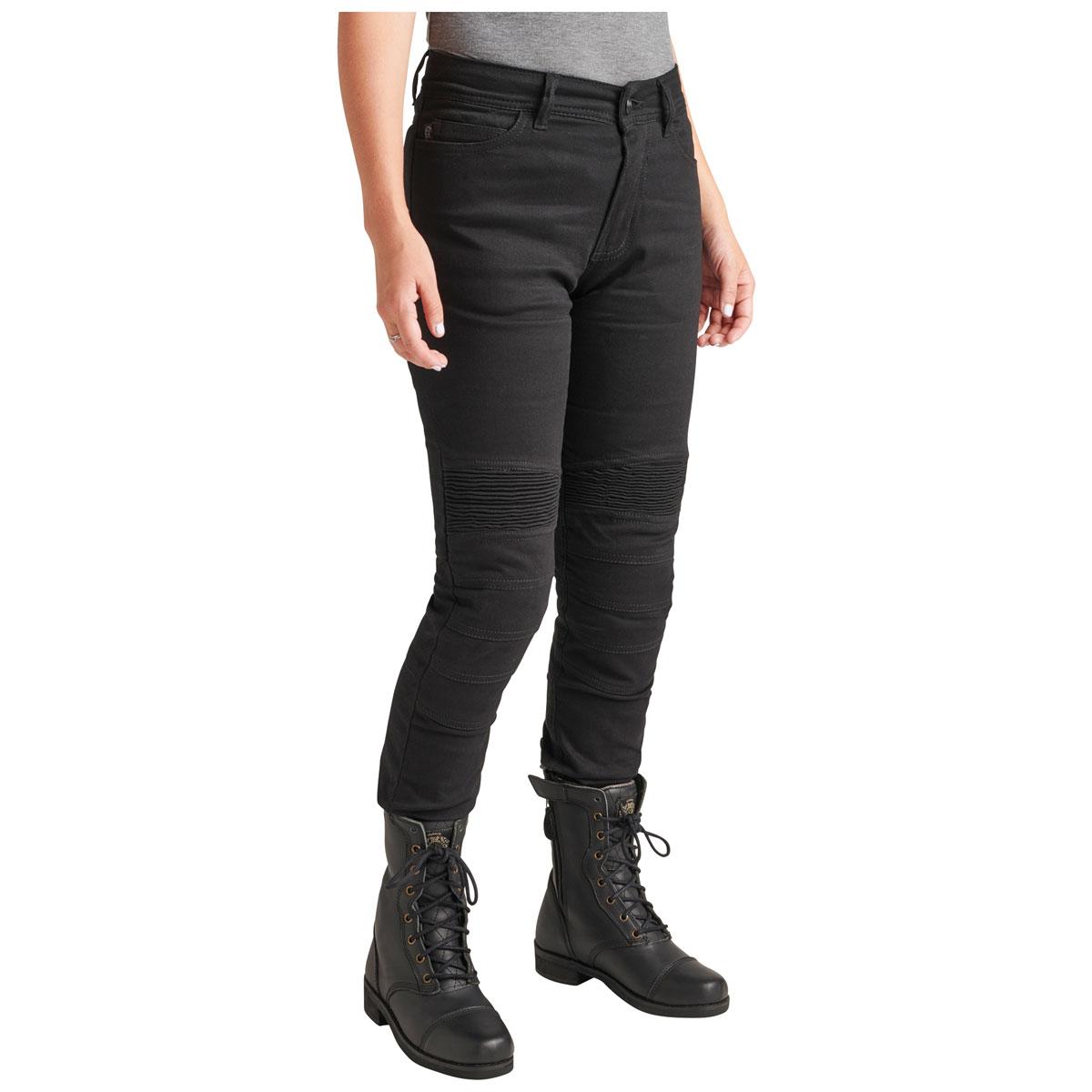 Roland Sands Design Apparel Women's Julian Black Denim Pants