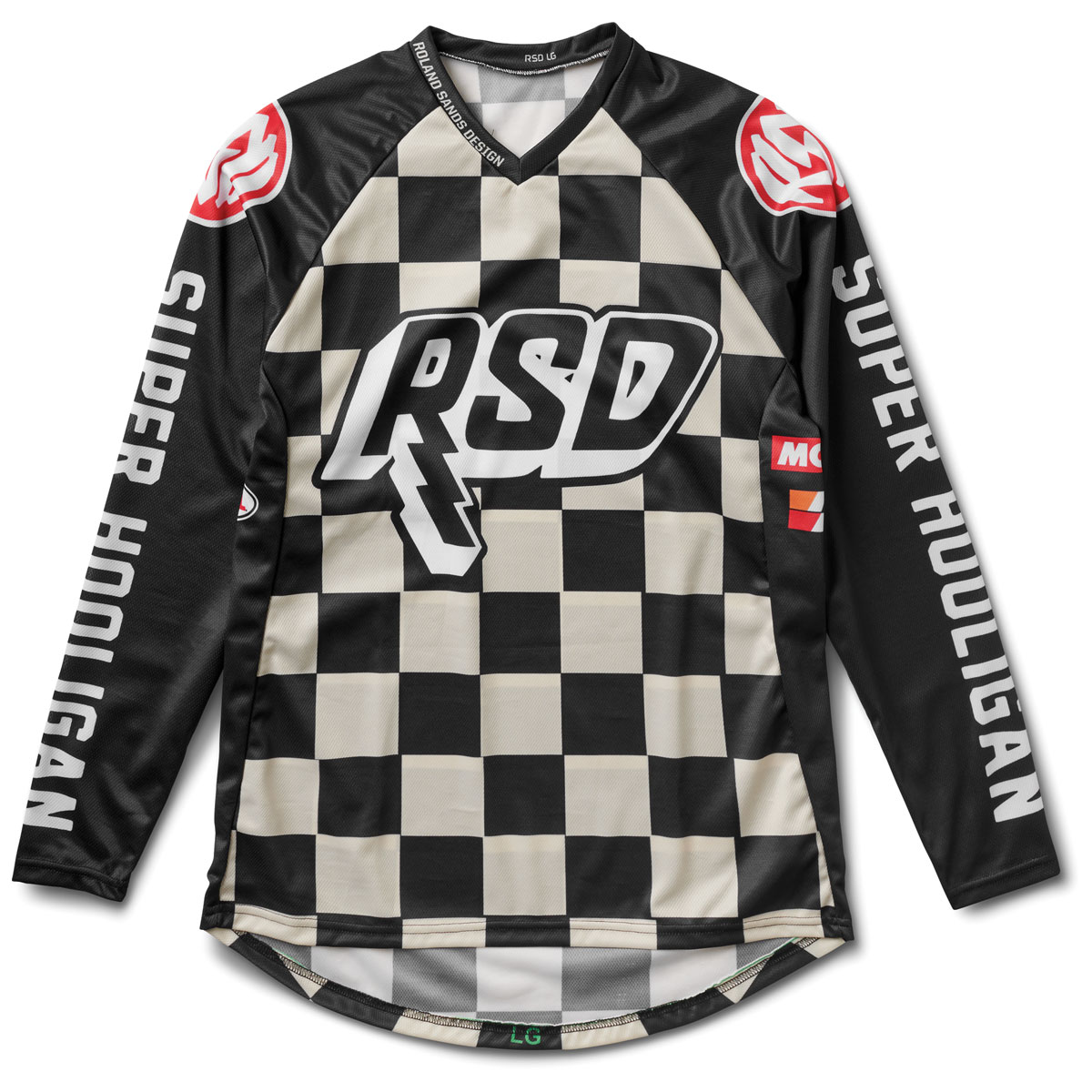 Roland Sands Design Apparel Men's Hooligan Checkers Jersey