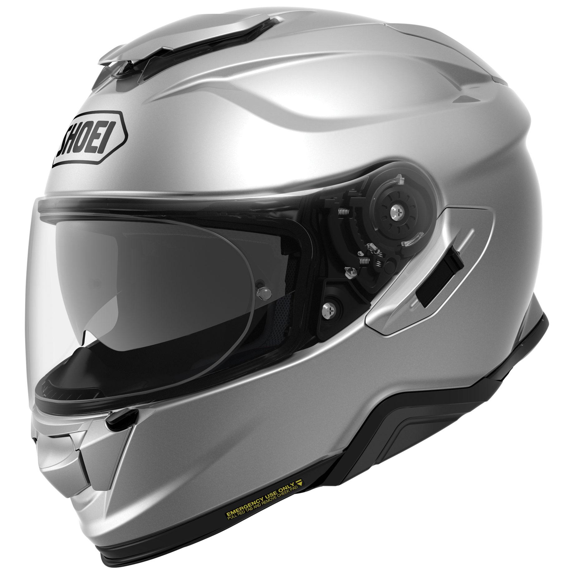 Shoei GT-Air II Silver Full Face Helmet