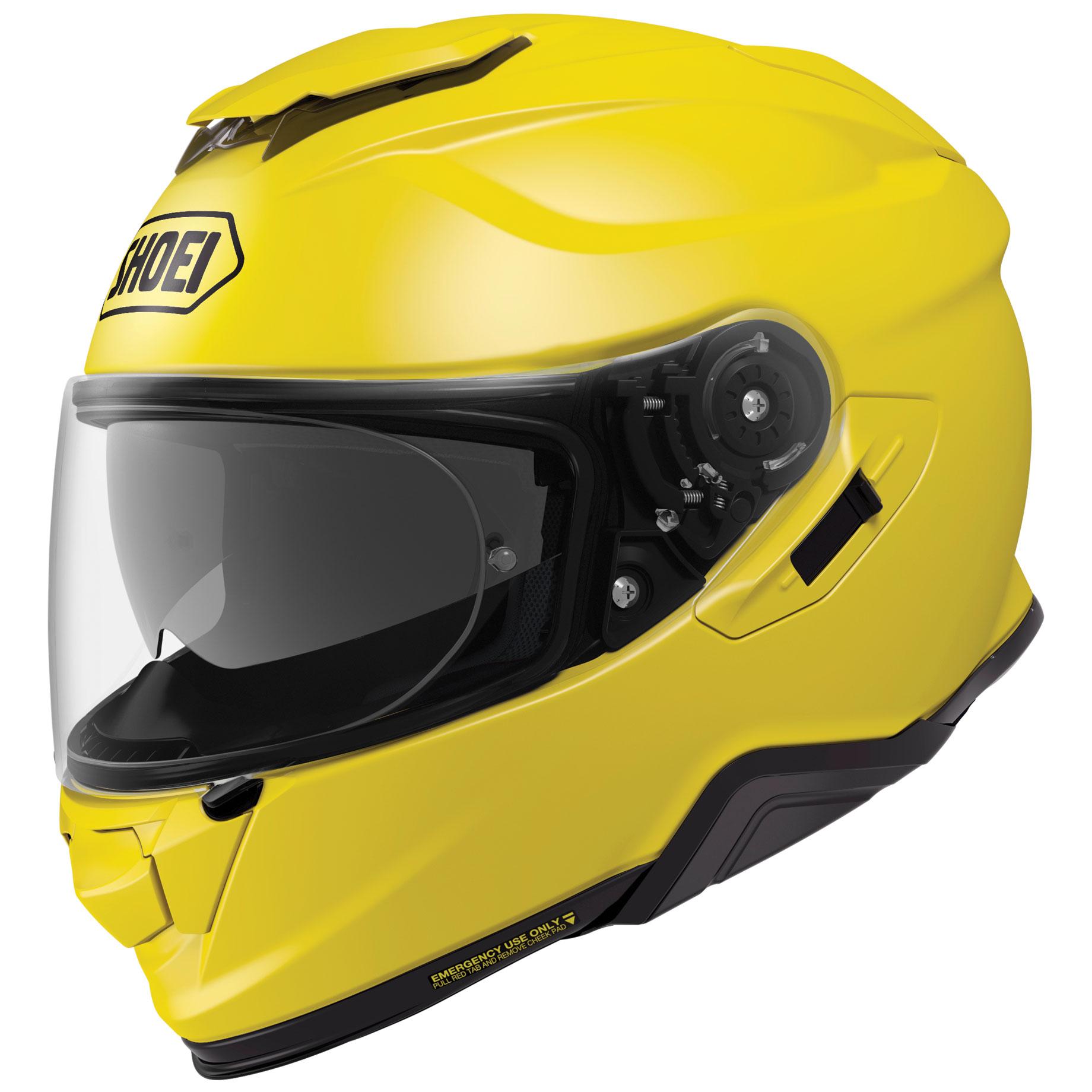 Shoei GT-Air II Bright Yellow Full Face Helmet
