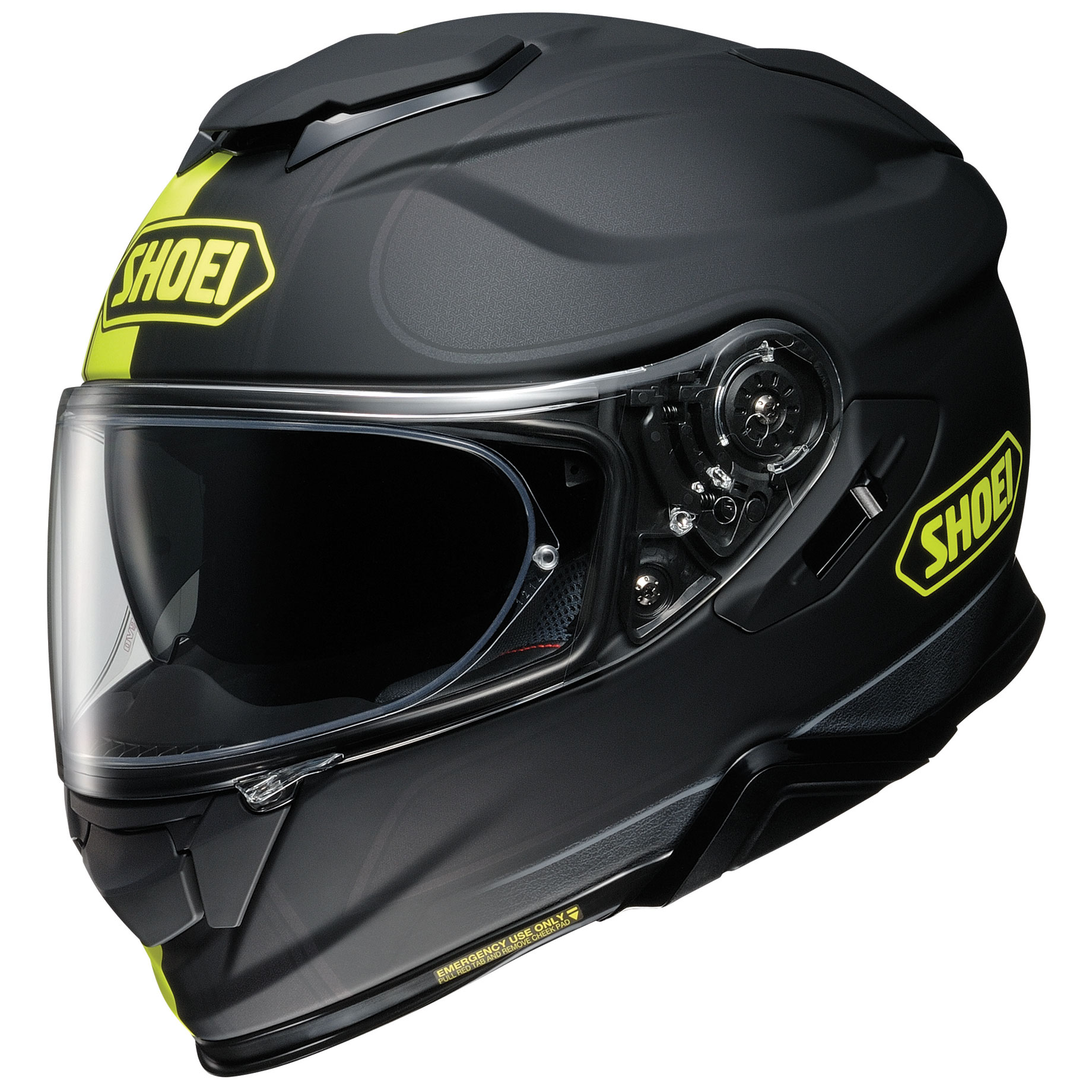 Shoei GT-Air II Redux Matte Yellow/Black Full Face Helmet