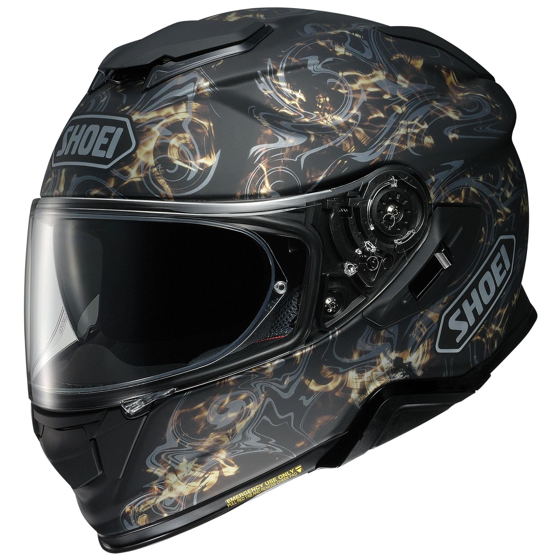 Shoei GT-Air II Conjure Matte Black/Gold Full Face Helmet