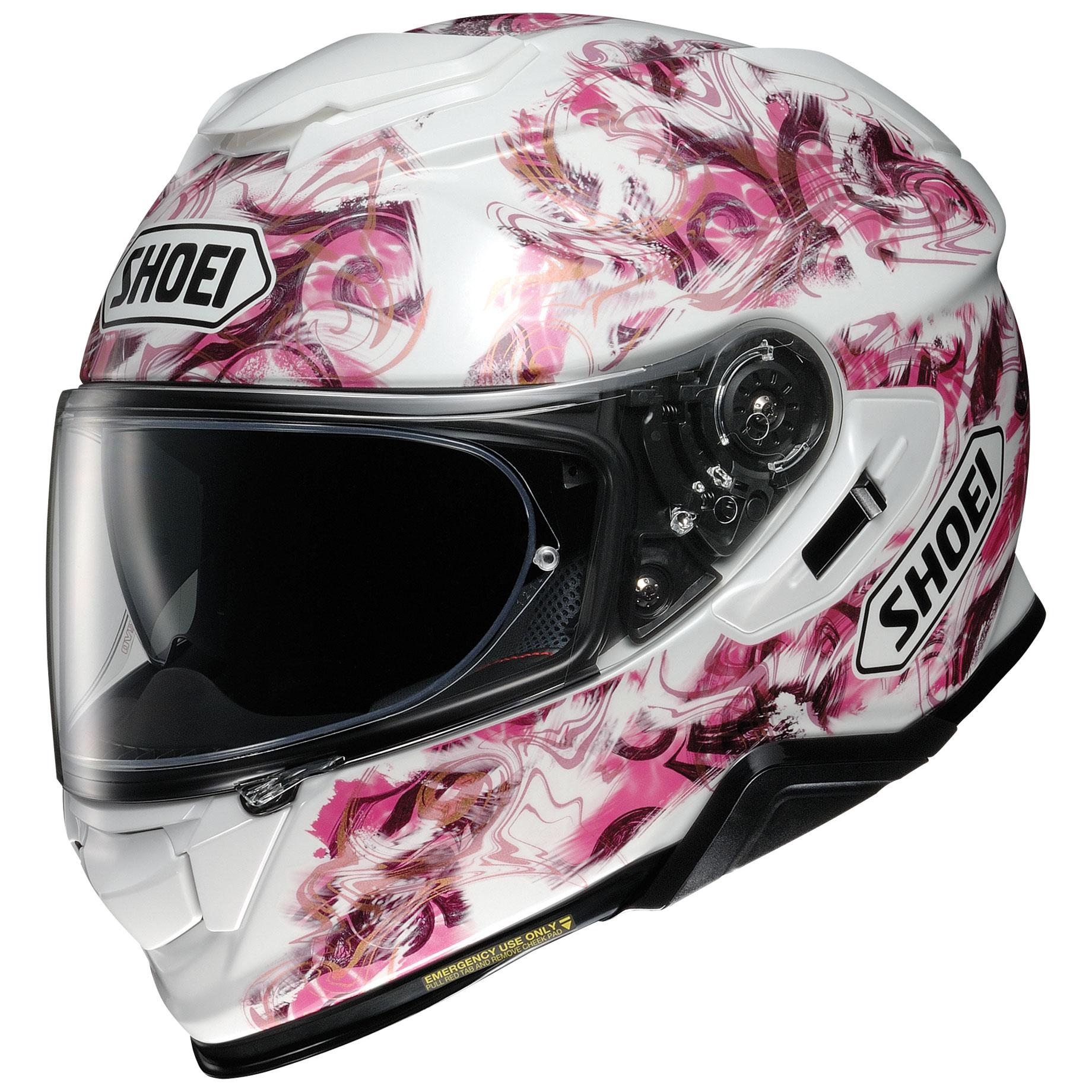 Shoei GT-Air II Conjure White/Pink Full Face Helmet