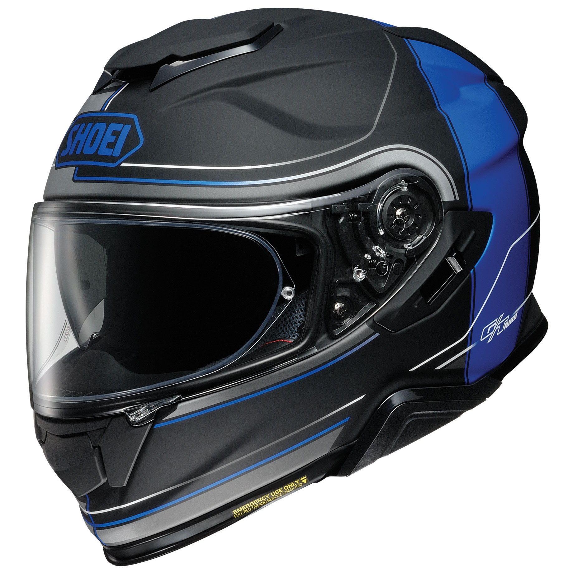 Shoei GT-Air II Crossbar Matte Blue/Black Full Face Helmet