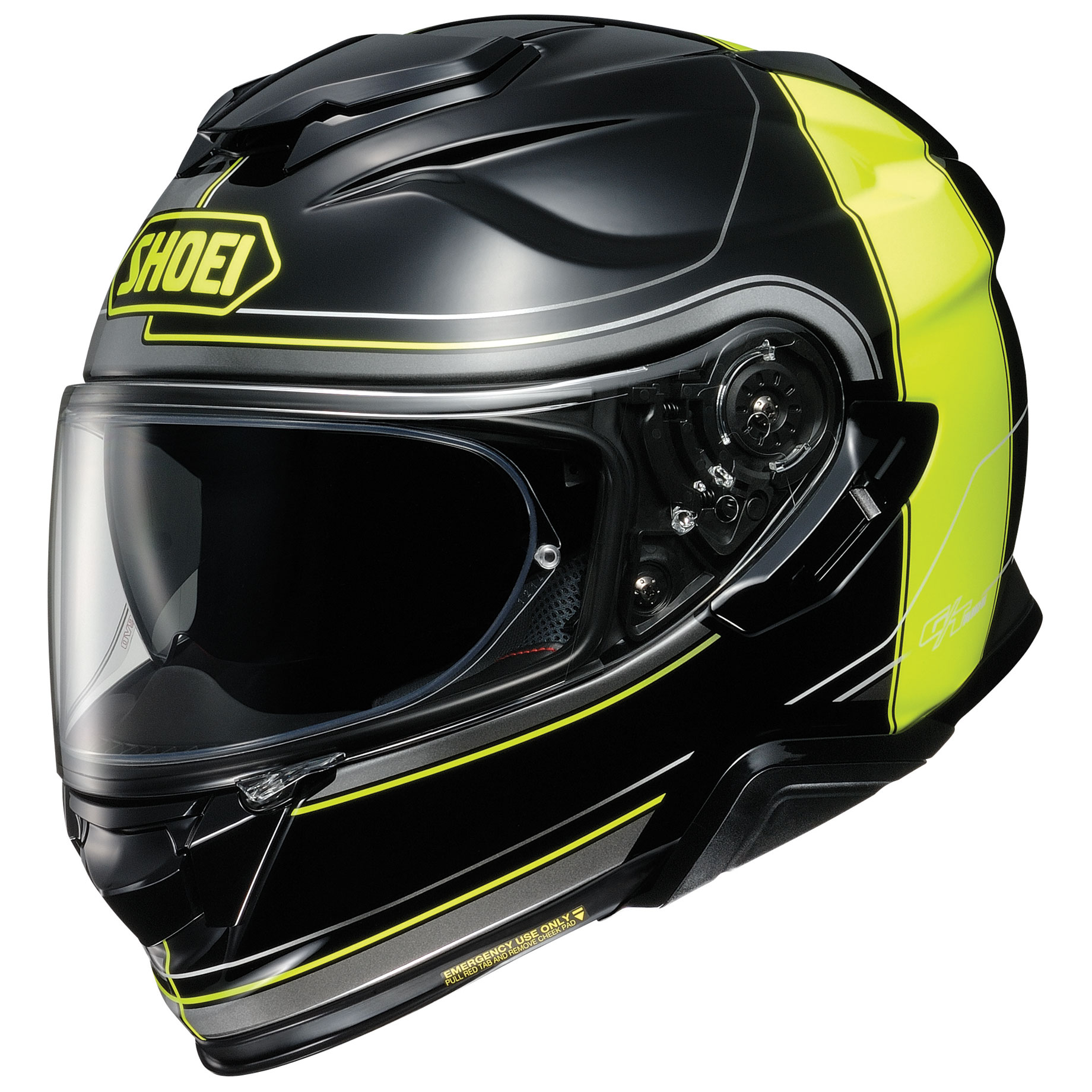 Shoei GT-Air II Crossbar Yellow/Black Full Face Helmet