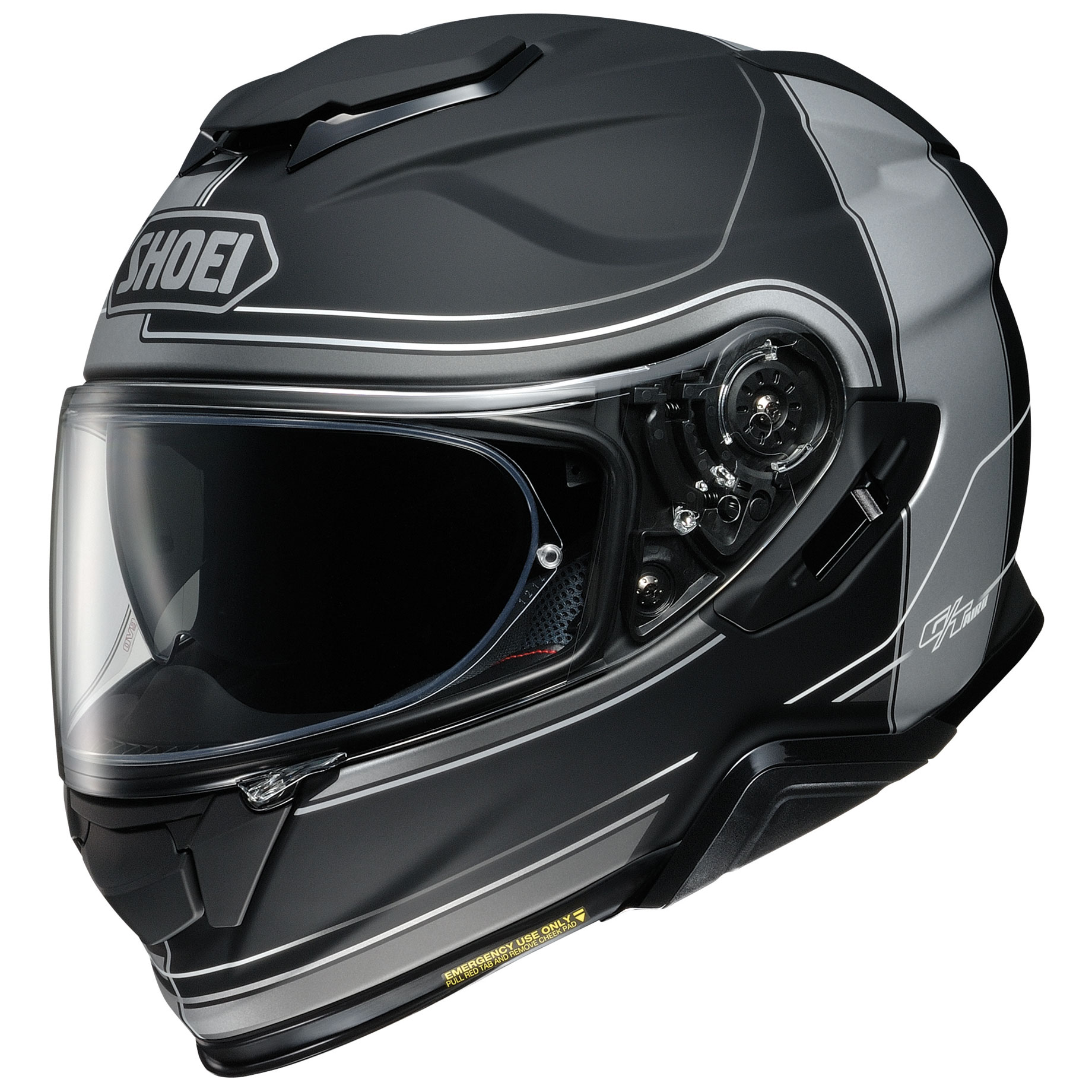 Shoei GT-Air II Crossbar Matte Gray/Black Full Face Helmet