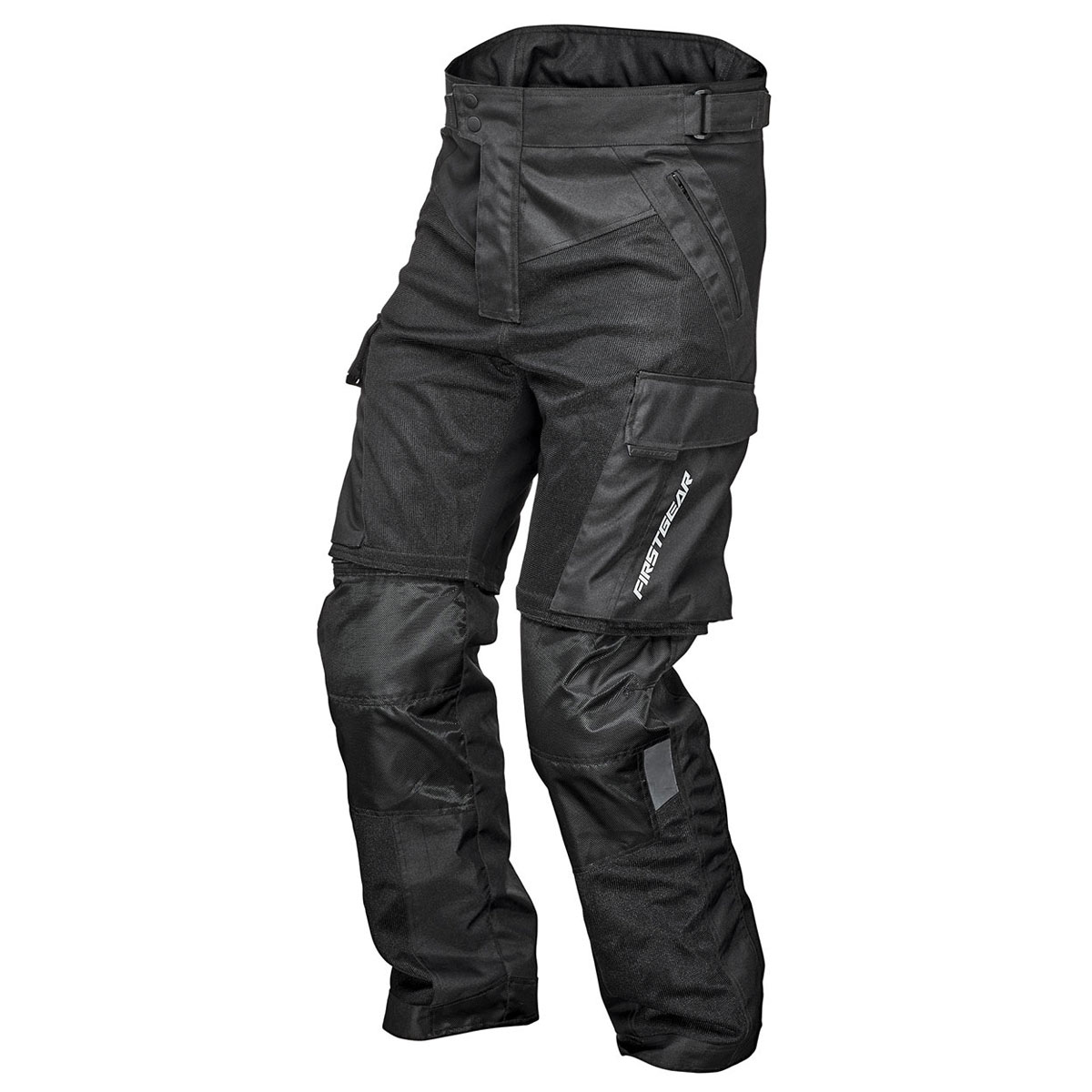 Firstgear Men's Panamint Mesh Riding Black Pants