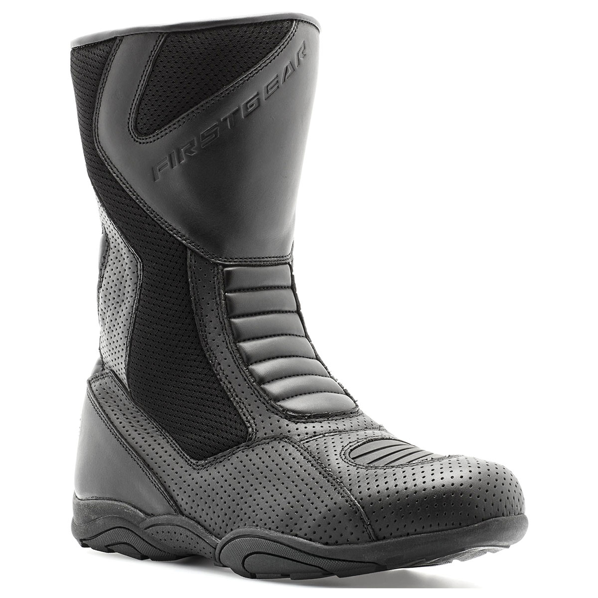 Firstgear Men's Strato Air Perforated Leather Boots