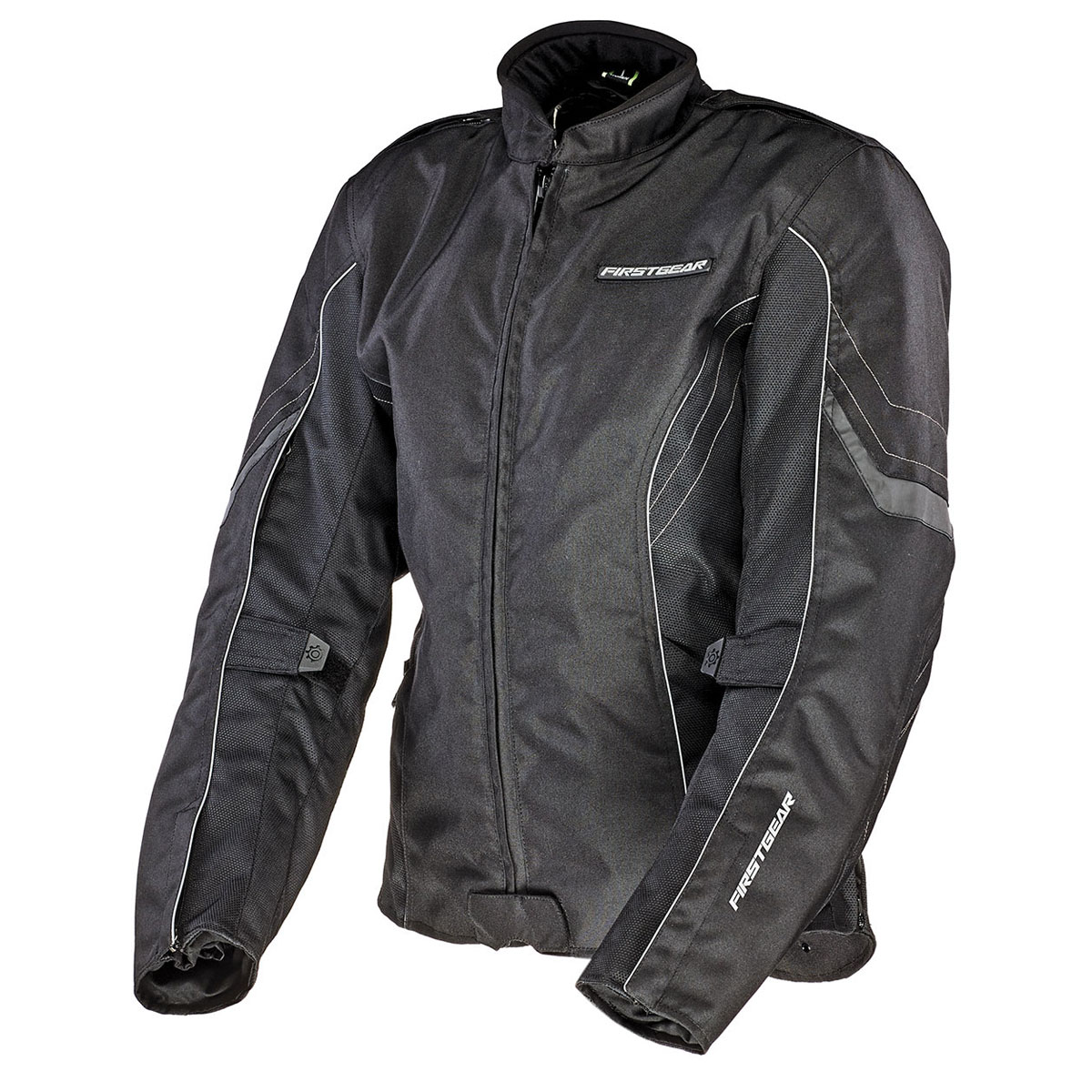 Firstgear Women's Contour Air Mesh Black Jacket