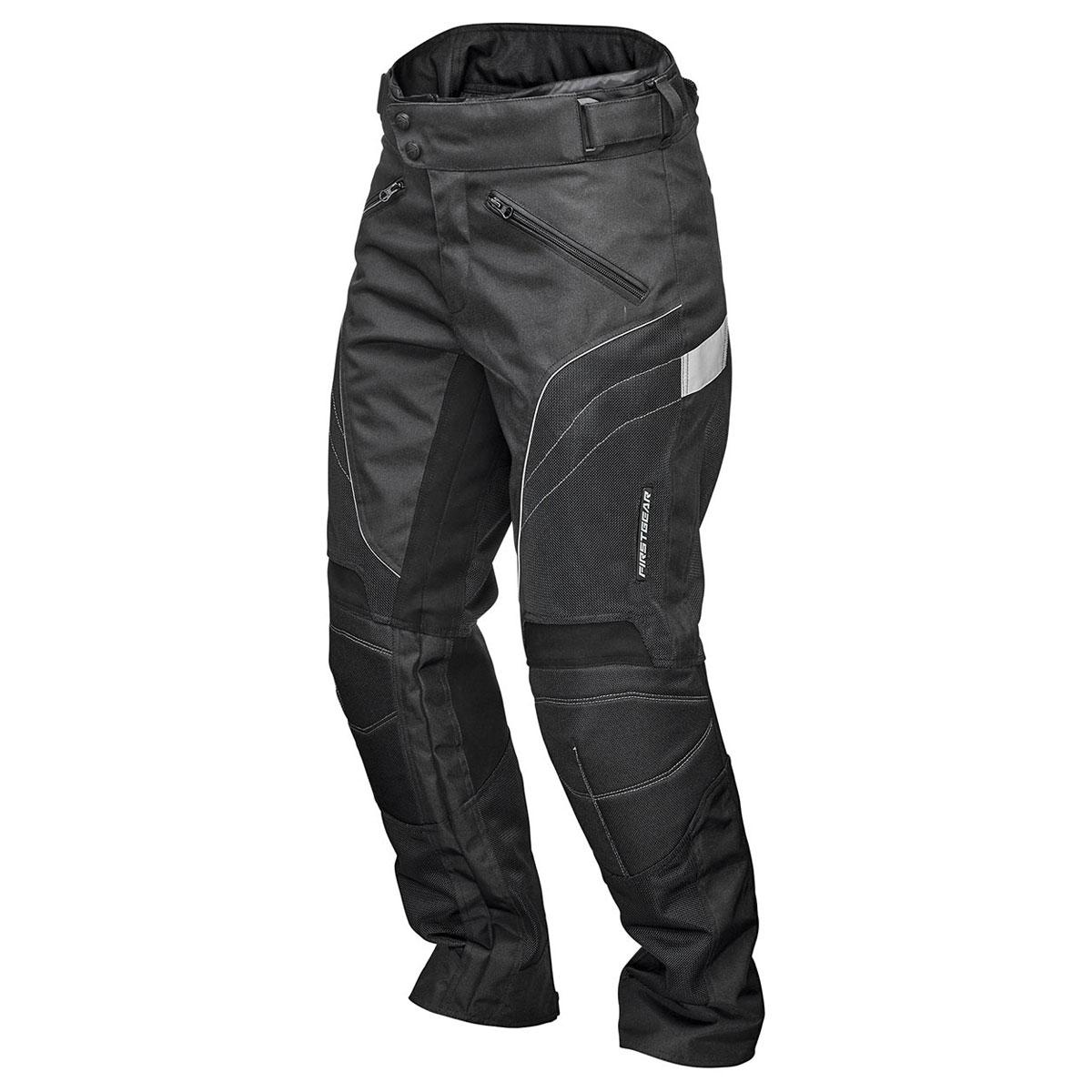 Firstgear Women's Contour Air Mesh Black Pants