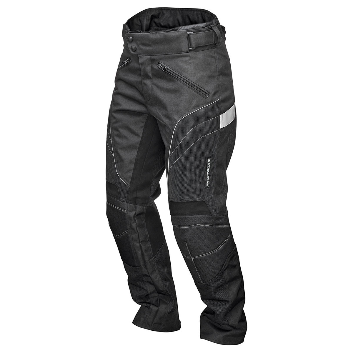 Firstgear Women's Contour Air Mesh Black Pants