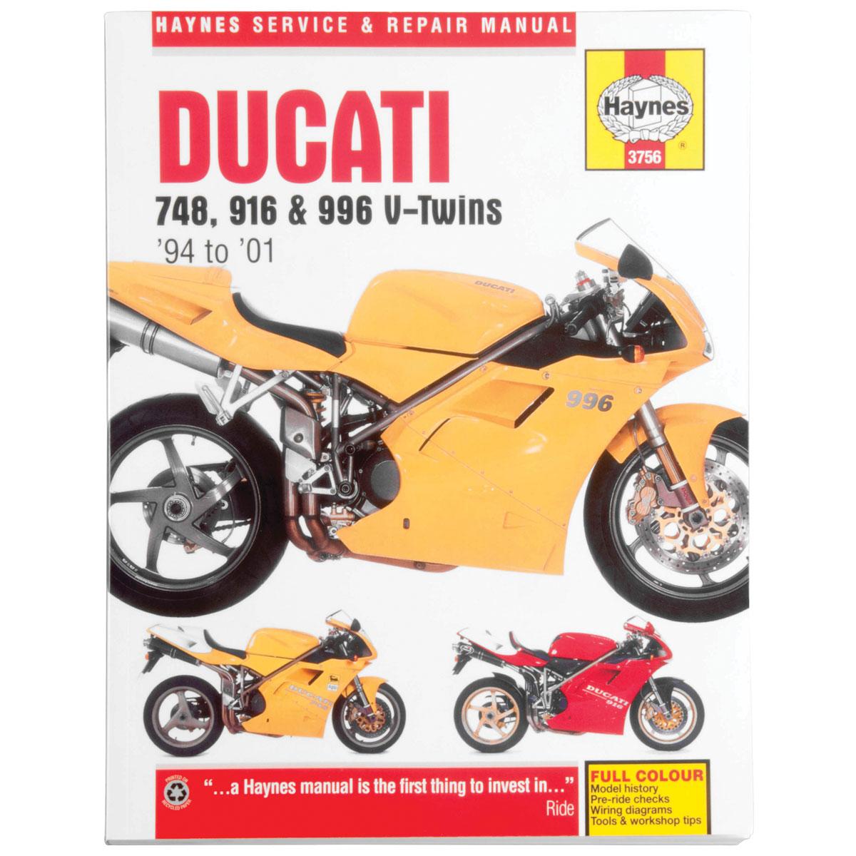 haynes ducati repair manual