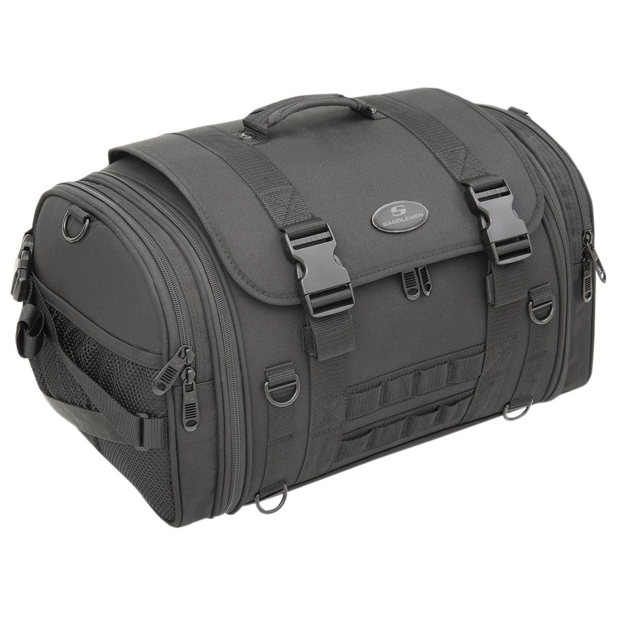 Saddlemen TR2300DE Tactical Deluxe Sissy Bar Bag