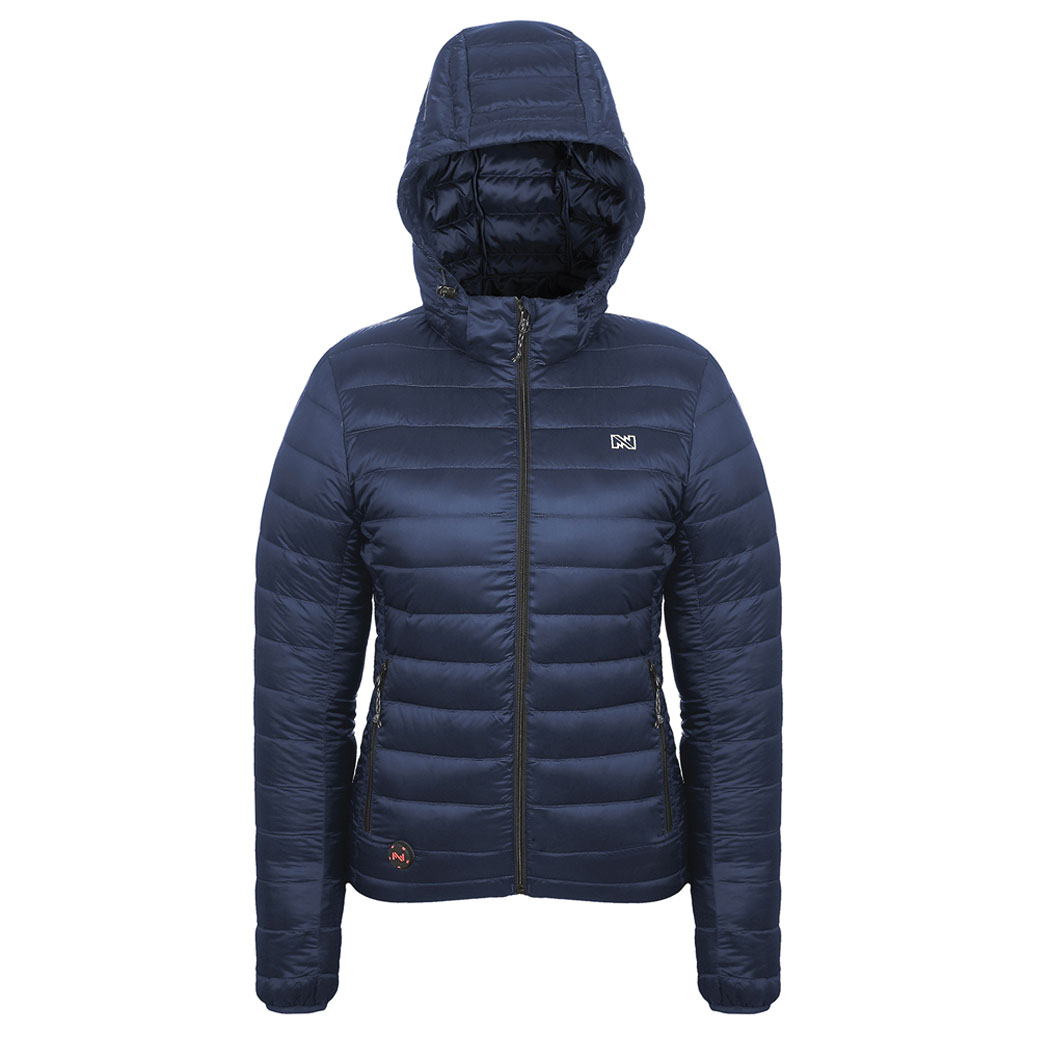 Mobile Warming Women's Ridge Heated Dark Navy Jacket