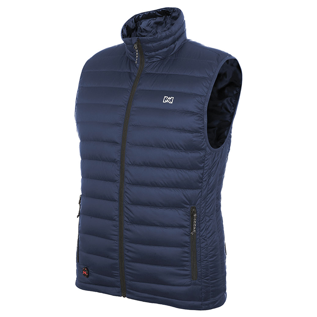 Mobile Warming Men's Endeavor Heated Dark Navy Vest
