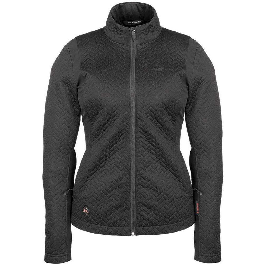 Mobile Warming Women's Sierra Heated Black Jacket