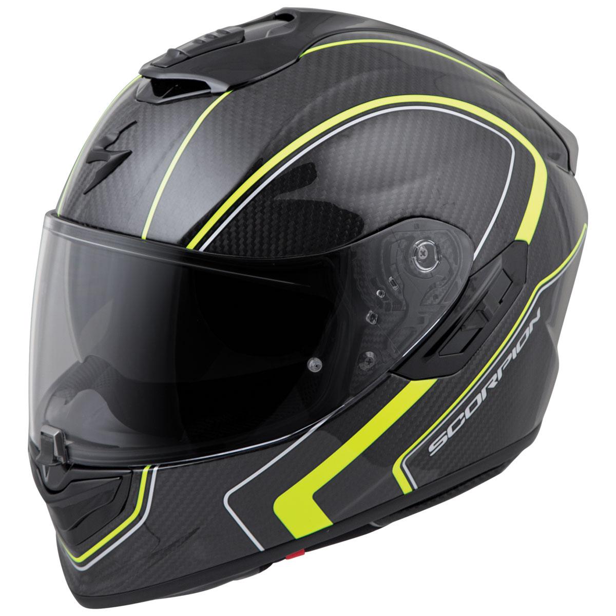 Scorpion EXO EXO-ST1400 Carbon Antrim Hi-Viz Full Face Helmet