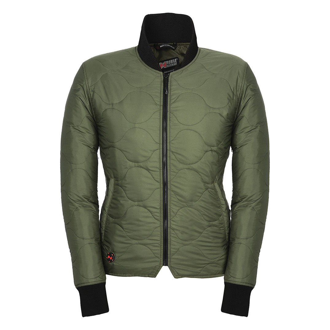 Mobile Warming Women's Company Heated Olive Jacket