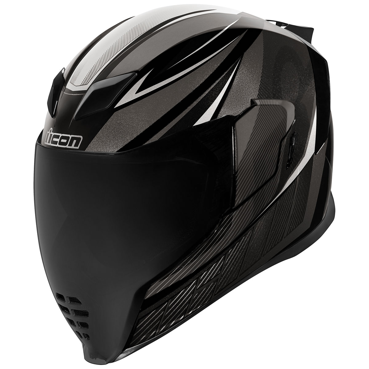 ICON Airflight QB1 Black Full Face Helmet