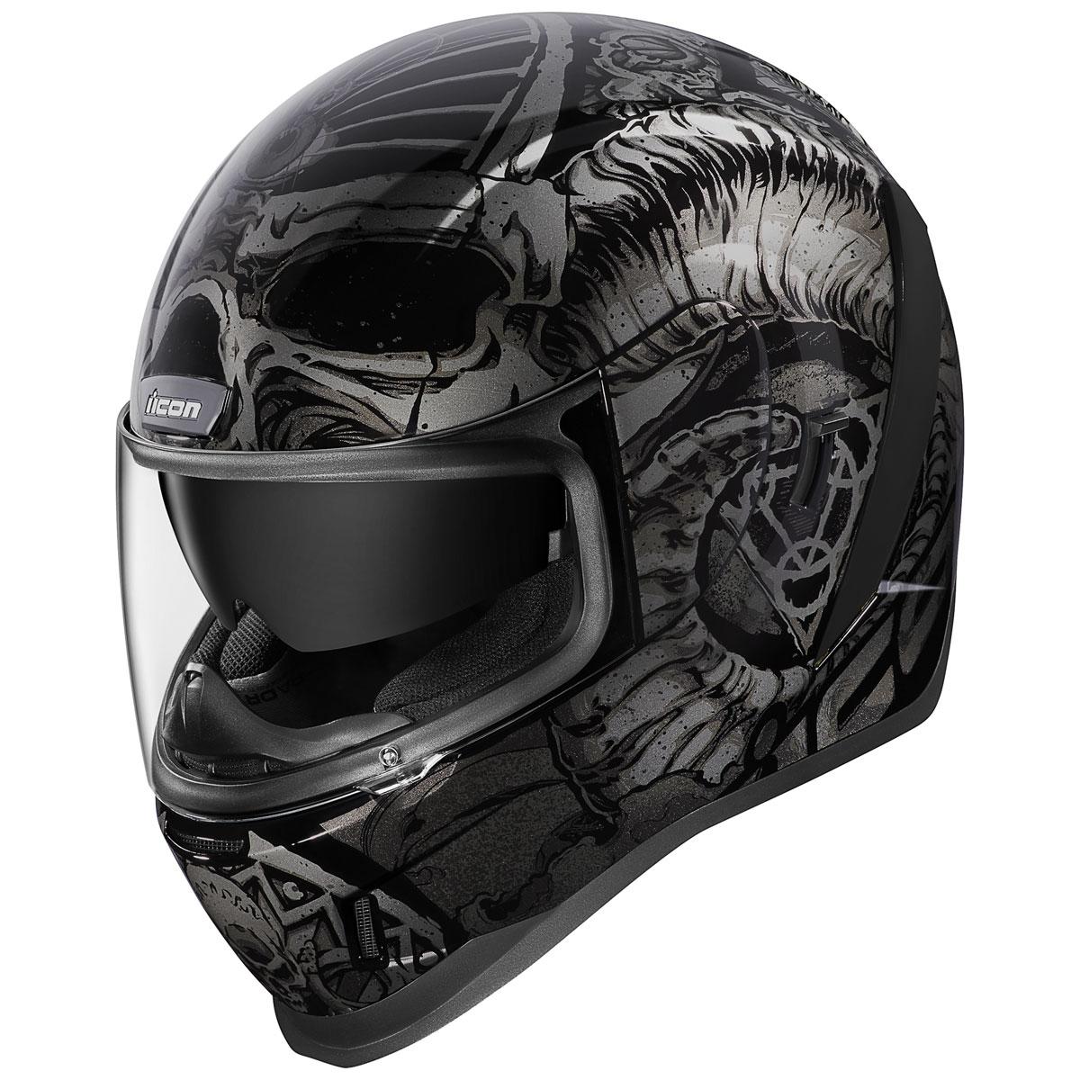 ICON Airform Sacrosanct Black Full Face Helmet