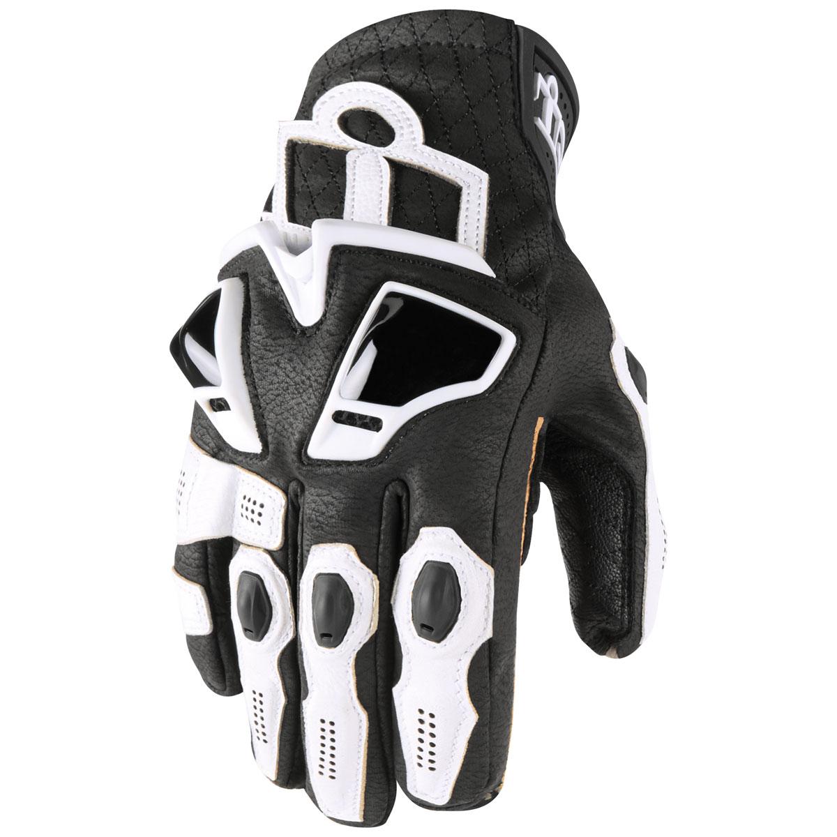 ICON Men's Hypersport Short White Gloves