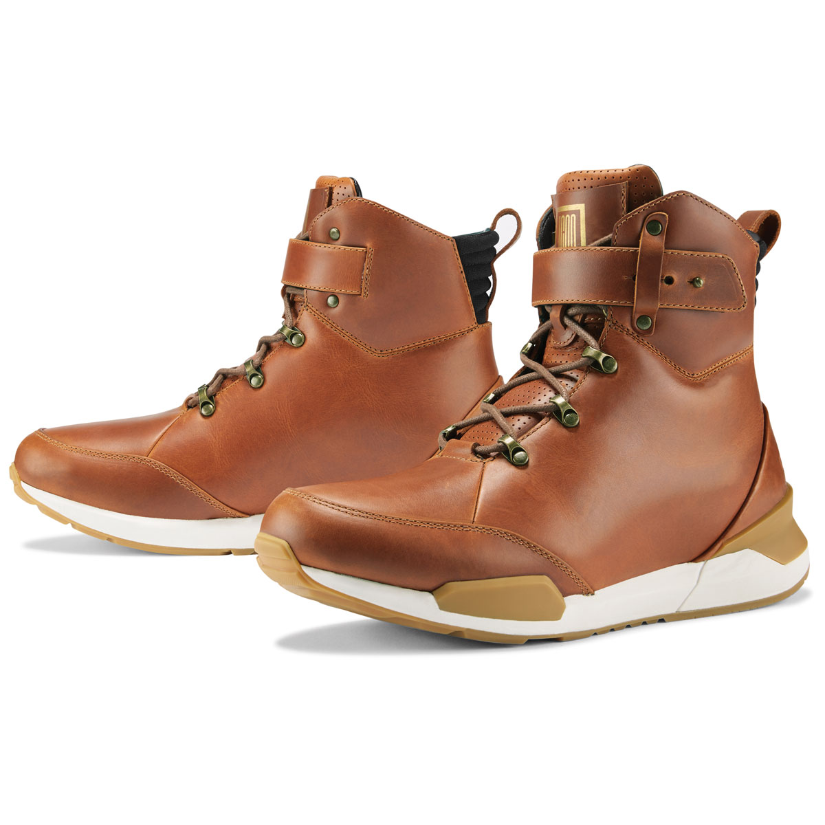 ICON Men's Varial Brown Leather Boots