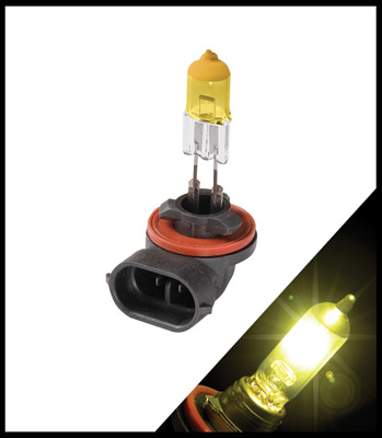 Putco Pure Halogen Premium Lighting Jet Yellow 881 Bulbs