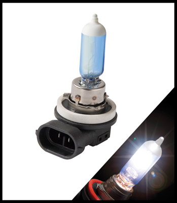 Putco Pure Premium Lighting Mirror White H11 - Halogen Bulb