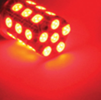 360° 1157 Bulb - Red (LED Replacement Bulb)