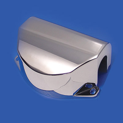 V-Twin Manufacturing Chrome Riser Cover For FLST Style Headlight Cowl