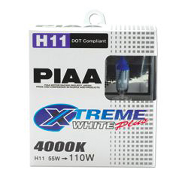 PIAA Powersports Xtreme White Plus H11 Bulbs