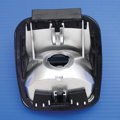 V-Twin Manufacturing Smooth Smoke Tail Lamp Lens for FXSTD