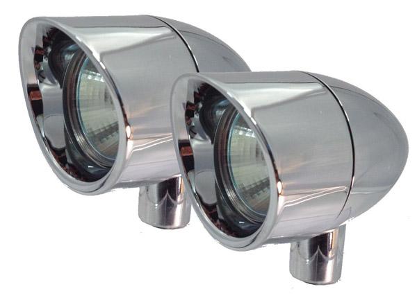 Lazer Star 35-Watt Vizor Driving Lights Small